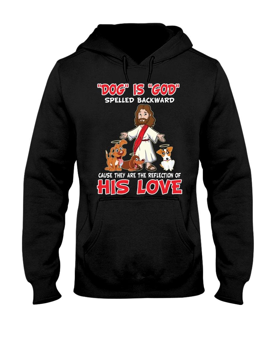 dog is god his love Hooded Sweatshirt