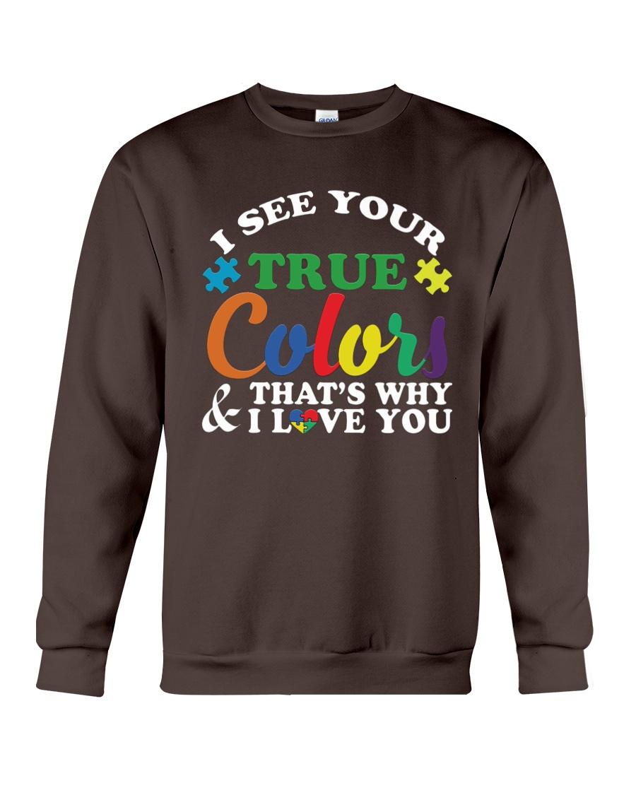 AUTISM Awareness Tshirt -True Color Perfect Gift   Crewneck Sweatshirt