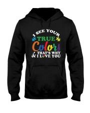 AUTISM Awareness Tshirt -True Color Perfect Gift   Hooded Sweatshirt thumbnail