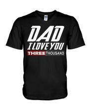DAD I Love You 3000 V-Neck T-Shirt thumbnail