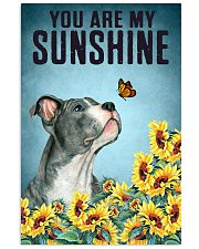 STAFFORDSHIRE BULL TERRIER YOU ARE MY SUNSHINE 11x17 Poster front