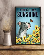 STAFFORDSHIRE BULL TERRIER YOU ARE MY SUNSHINE 11x17 Poster lifestyle-poster-3