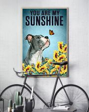 STAFFORDSHIRE BULL TERRIER YOU ARE MY SUNSHINE 11x17 Poster lifestyle-poster-7