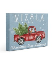 VIZSLA DOG RED TRUCK CHRISTMAS Gallery Wrapped Canvas Prints tile
