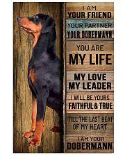 DOBERMAN PINSCHER DOG LOVER 11x17 Poster front
