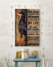 DOBERMAN PINSCHER DOG LOVER 11x17 Poster lifestyle-holiday-poster-3