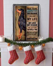 DOBERMAN PINSCHER DOG LOVER 11x17 Poster lifestyle-holiday-poster-4