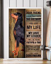 DOBERMAN PINSCHER DOG LOVER 11x17 Poster lifestyle-poster-4