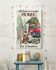 SHETLAND SHEEPDOG DOG ALL HEARTS COME HOME 11x17 Poster lifestyle-holiday-poster-3