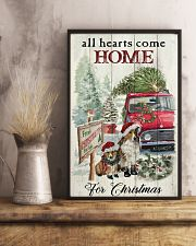 SHETLAND SHEEPDOG DOG ALL HEARTS COME HOME 11x17 Poster lifestyle-poster-3