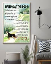 GREATER SWISS MOUNTAIN DOG WAITTING AT THE DOOR 11x17 Poster lifestyle-poster-1