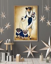 PUG WOMAN 11x17 Poster lifestyle-holiday-poster-1