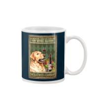 WOMAN ALSO NEEDS A LABRADOR DOG Mug tile