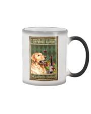 WOMAN ALSO NEEDS A LABRADOR DOG Color Changing Mug tile