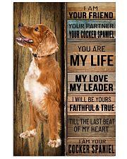 COCKER SPANIEL DOG LOVER 11x17 Poster front