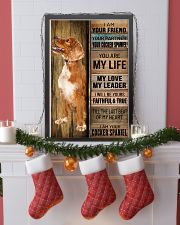 COCKER SPANIEL DOG LOVER 11x17 Poster lifestyle-holiday-poster-4
