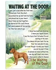 CHESAPEAKE BAY RETRIEVER WAITTING AT THE DOOR 11x17 Poster front