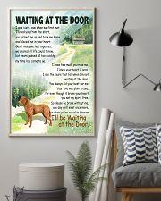 CHESAPEAKE BAY RETRIEVER WAITTING AT THE DOOR 11x17 Poster lifestyle-poster-1