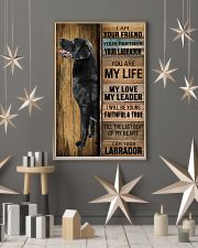 BLACK LABRADOR DOG LOVER 11x17 Poster lifestyle-holiday-poster-1