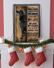 BLACK LABRADOR DOG LOVER 11x17 Poster lifestyle-holiday-poster-4