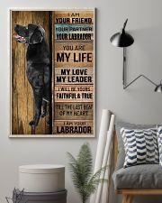 BLACK LABRADOR DOG LOVER 11x17 Poster lifestyle-poster-1