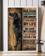 BLACK LABRADOR DOG LOVER 11x17 Poster lifestyle-poster-4