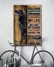 BLACK LABRADOR DOG LOVER 11x17 Poster lifestyle-poster-7