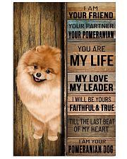 POMERANIAN DOG LOVER 11x17 Poster front