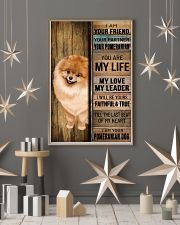 POMERANIAN DOG LOVER 11x17 Poster lifestyle-holiday-poster-1