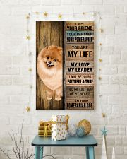 POMERANIAN DOG LOVER 11x17 Poster lifestyle-holiday-poster-3