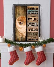 POMERANIAN DOG LOVER 11x17 Poster lifestyle-holiday-poster-4