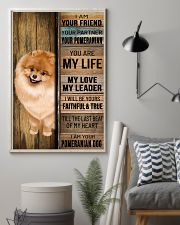 POMERANIAN DOG LOVER 11x17 Poster lifestyle-poster-1