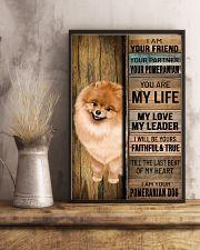 POMERANIAN DOG LOVER 11x17 Poster lifestyle-poster-3