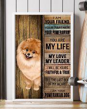 POMERANIAN DOG LOVER 11x17 Poster lifestyle-poster-4