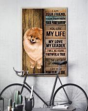 POMERANIAN DOG LOVER 11x17 Poster lifestyle-poster-7