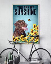 CHOCOLATE LABRADOR DOG YOU ARE MY SUNSHINE 11x17 Poster lifestyle-poster-7