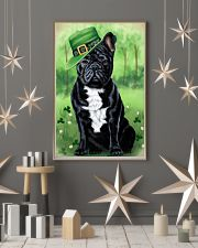 FRENCH BULLDOG PUPPY SHAMROCK PATRICK'S DAY 11x17 Poster lifestyle-holiday-poster-1