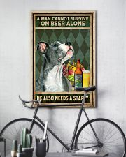 MAN ALSO NEEDS A STAFFORDSHIRE BULL TERRIER 11x17 Poster lifestyle-poster-7