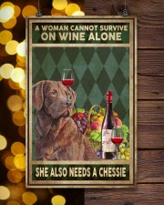 WOMAN ALSO NEEDS A CHESSIE 11x17 Poster aos-poster-portrait-11x17-lifestyle-24