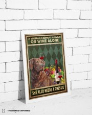 WOMAN ALSO NEEDS A CHESSIE 11x17 Poster aos-poster-portrait-11x17-lifestyle-35