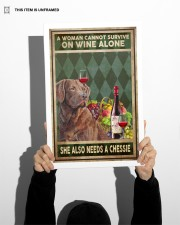 WOMAN ALSO NEEDS A CHESSIE 11x17 Poster aos-poster-portrait-11x17-lifestyle-36