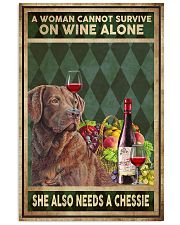 WOMAN ALSO NEEDS A CHESSIE 11x17 Poster front