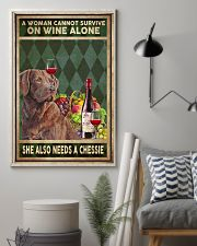 WOMAN ALSO NEEDS A CHESSIE 11x17 Poster lifestyle-poster-1