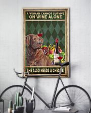 WOMAN ALSO NEEDS A CHESSIE 11x17 Poster lifestyle-poster-7