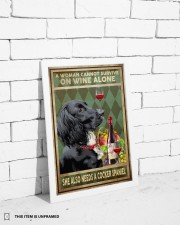 WOMAN ALSO NEEDS A COCKER SPANIEL DOG 11x17 Poster aos-poster-portrait-11x17-lifestyle-35
