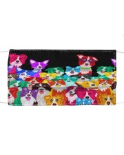 MULTI COLORED BORDER COLLIE PUPPIES Mask tile