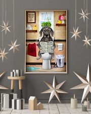 WEIMARANER PUPPY SITTING ON A TOILET 11x17 Poster lifestyle-holiday-poster-1