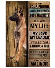 MALINOIS DOG LOVER 11x17 Poster front