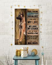 MALINOIS DOG LOVER 11x17 Poster lifestyle-holiday-poster-3