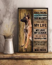 MALINOIS DOG LOVER 11x17 Poster lifestyle-poster-3